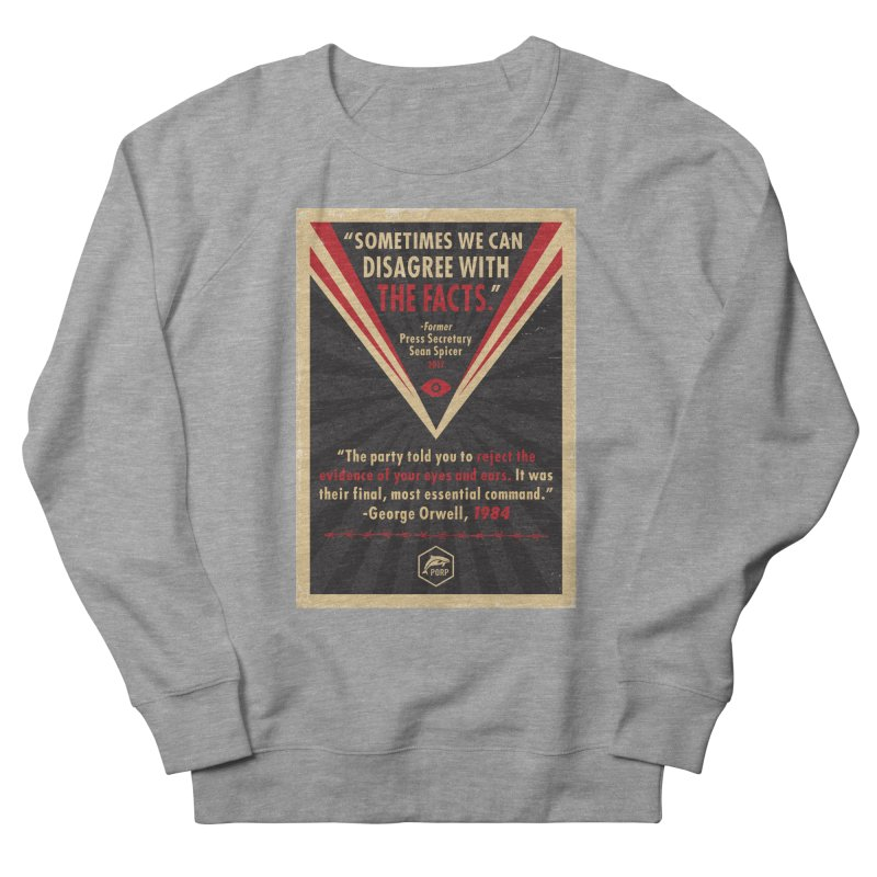 PORP Orwellian Poster Men's French Terry Sweatshirt by PORPMerch's Artist Shop