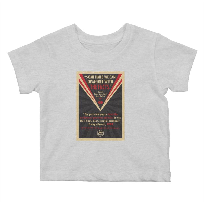 PORP Orwellian Poster Kids Baby T-Shirt by PORPMerch's Artist Shop
