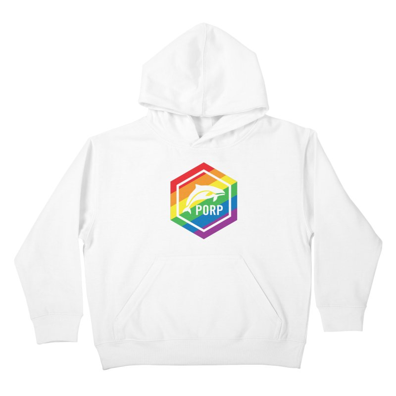 PORP Pride Kids Pullover Hoody by PORPMerch's Artist Shop