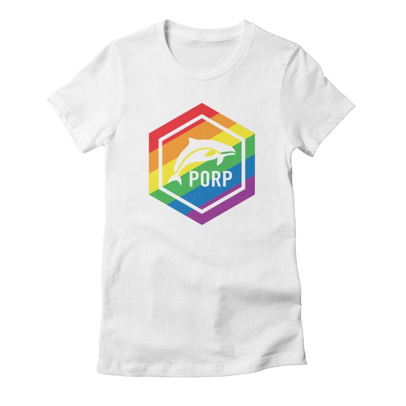 PORP Pride Women's Fitted T-Shirt by PORPMerch's Artist Shop