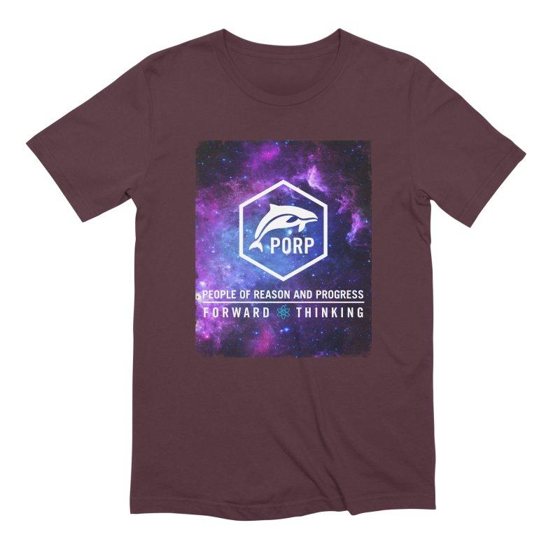 PORP in Space Men's Extra Soft T-Shirt by PORPMerch's Artist Shop