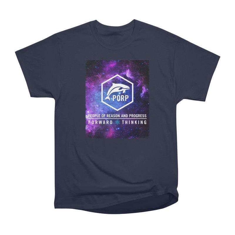 PORP in Space Men's Heavyweight T-Shirt by PORPMerch's Artist Shop