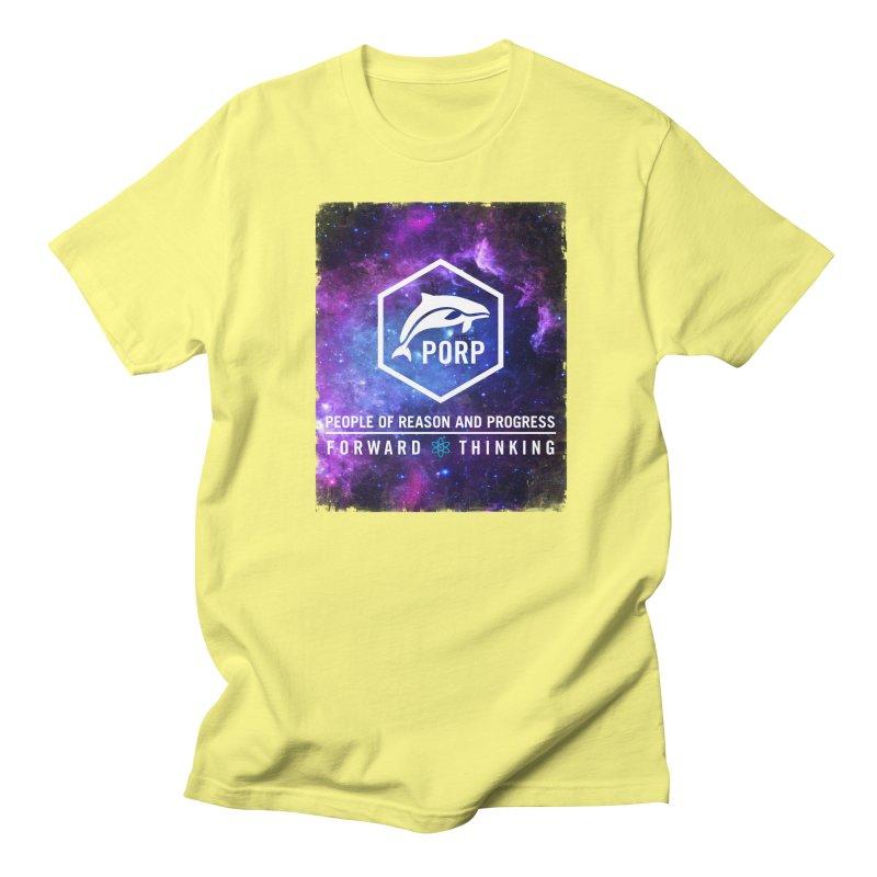 PORP in Space Men's Regular T-Shirt by PORPMerch's Artist Shop