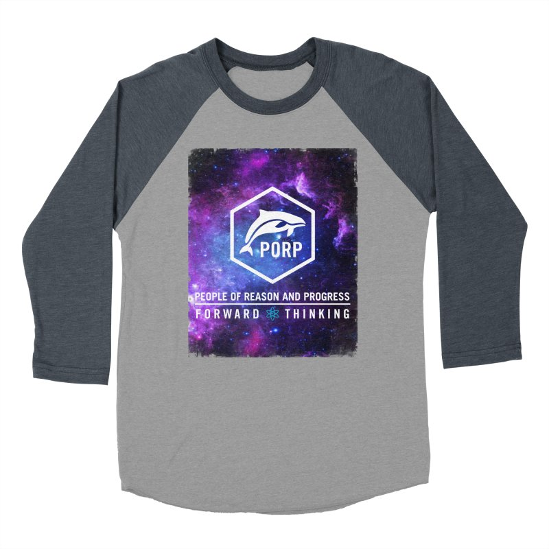 PORP in Space Women's Baseball Triblend Longsleeve T-Shirt by PORPMerch's Artist Shop