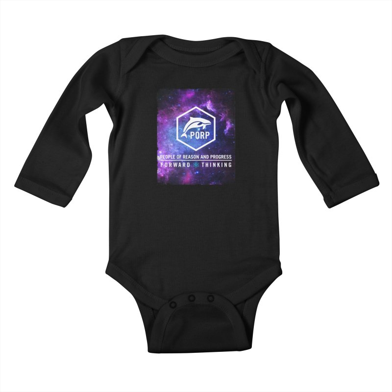 PORP in Space Kids Baby Longsleeve Bodysuit by PORPMerch's Artist Shop