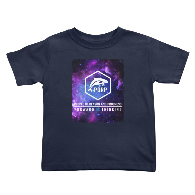 PORP in Space Kids Toddler T-Shirt by PORPMerch's Artist Shop