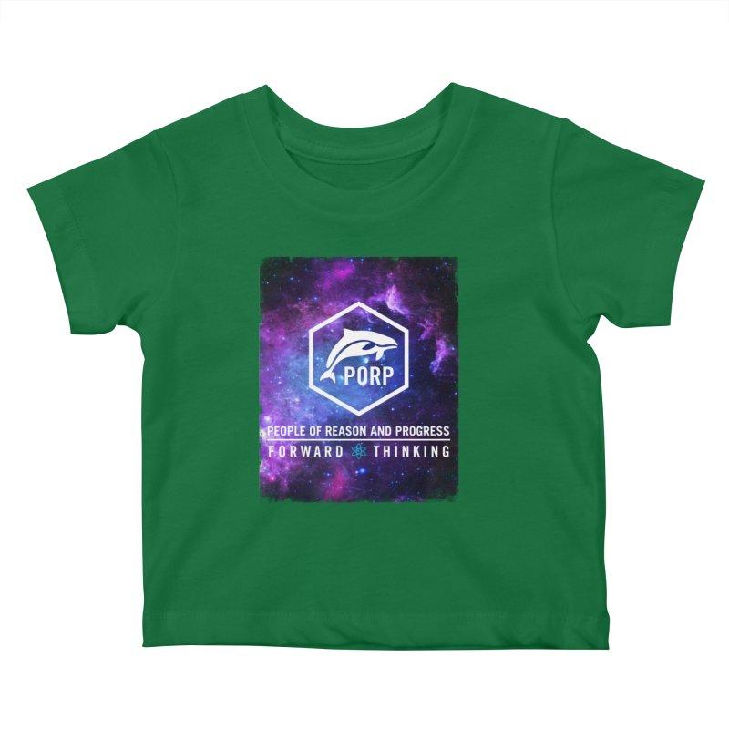 PORP in Space Kids Baby T-Shirt by PORPMerch's Artist Shop