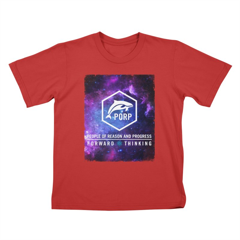 PORP in Space Kids T-Shirt by PORPMerch's Artist Shop