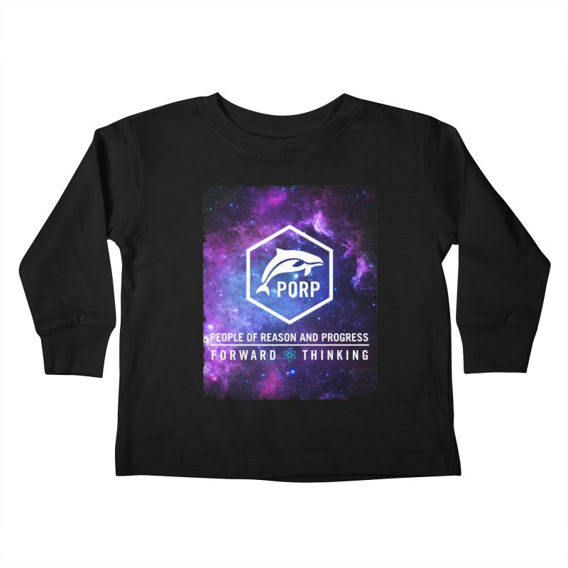 PORP in Space Kids Toddler Longsleeve T-Shirt by PORPMerch's Artist Shop