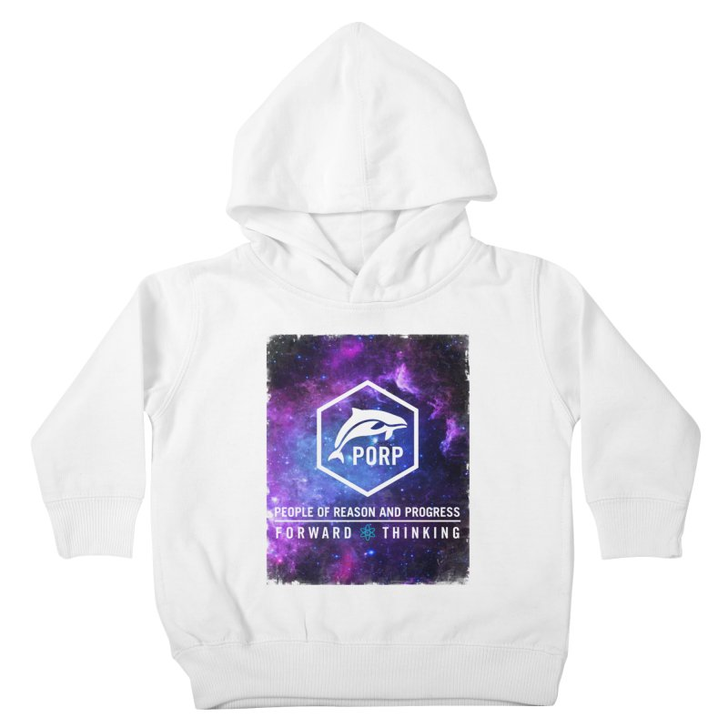 PORP in Space Kids Toddler Pullover Hoody by PORPMerch's Artist Shop