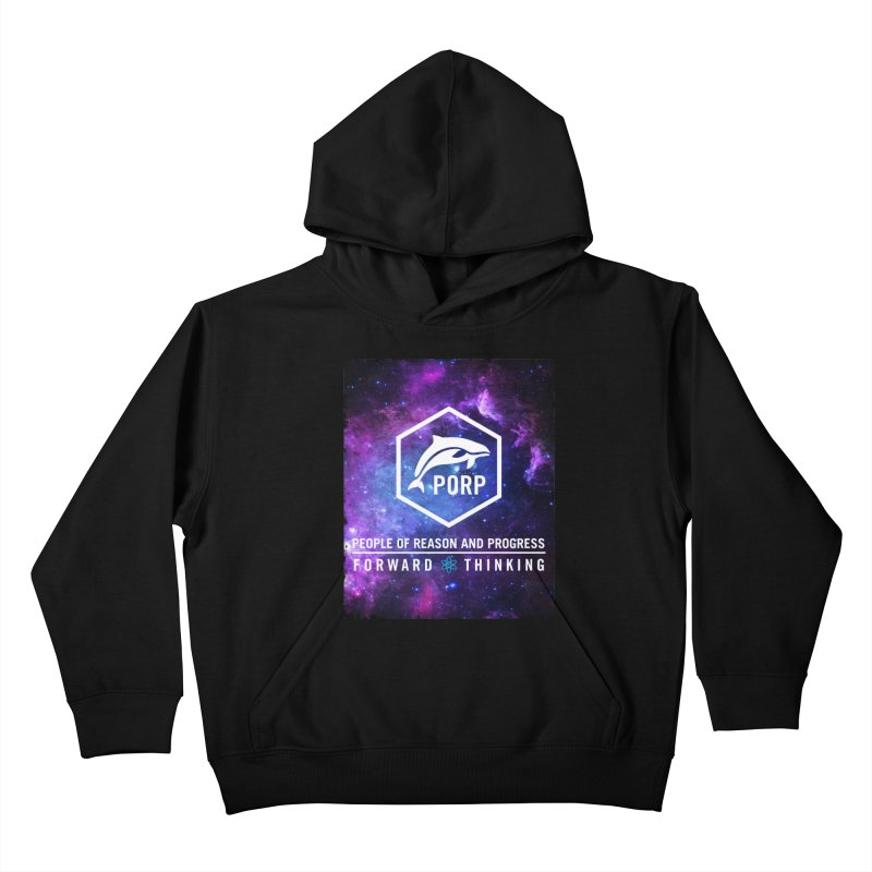 PORP in Space Kids Pullover Hoody by PORPMerch's Artist Shop