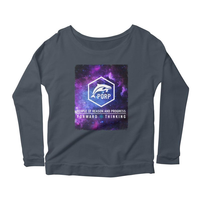 PORP in Space Women's Scoop Neck Longsleeve T-Shirt by PORPMerch's Artist Shop