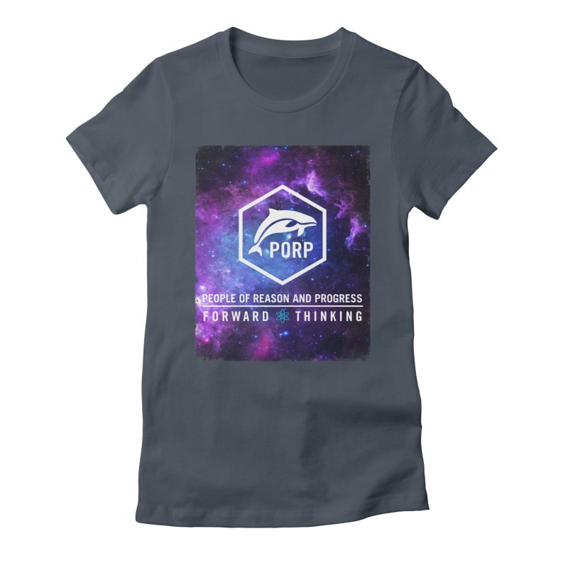 PORP in Space Women's Fitted T-Shirt by PORPMerch's Artist Shop
