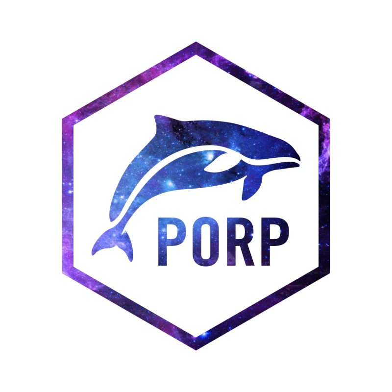 PORP in Space Inlay by PORP Merch's Artist Shop