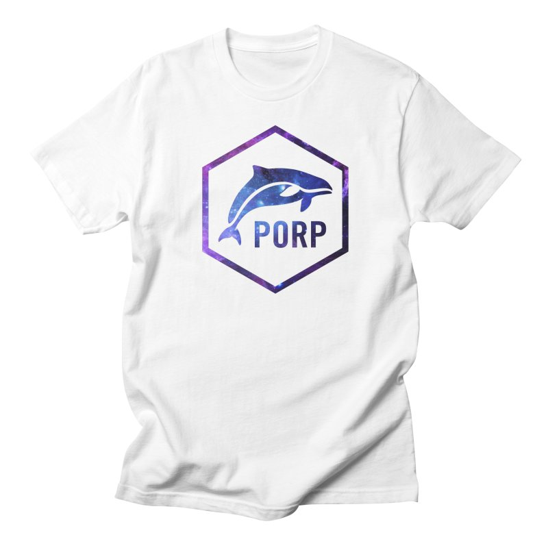 PORP in Space Inlay Women's Regular Unisex T-Shirt by PORPMerch's Artist Shop