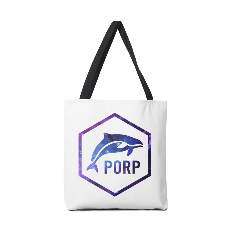 PORP in Space Inlay Accessories Bag by PORPMerch's Artist Shop