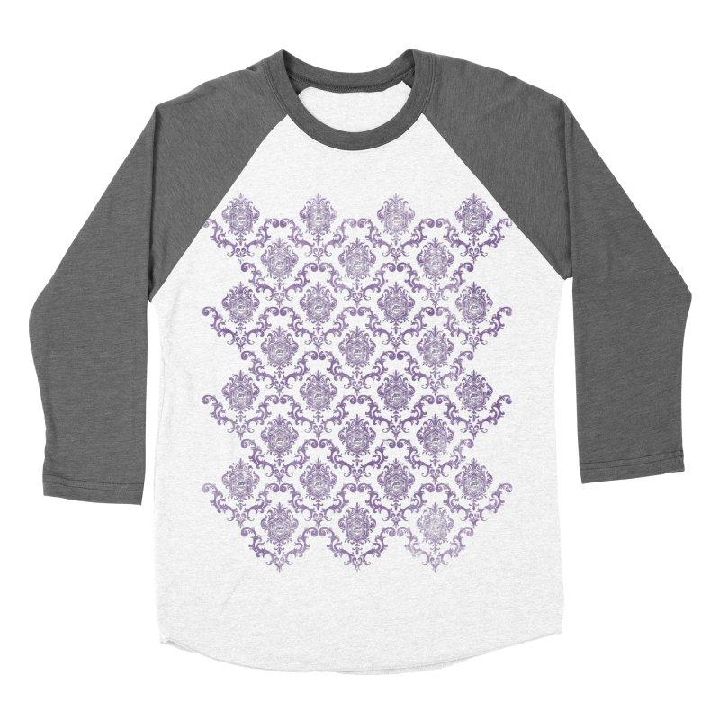 PORP Baroque Wallpaper Women's Baseball Triblend Longsleeve T-Shirt by PORPMerch's Artist Shop