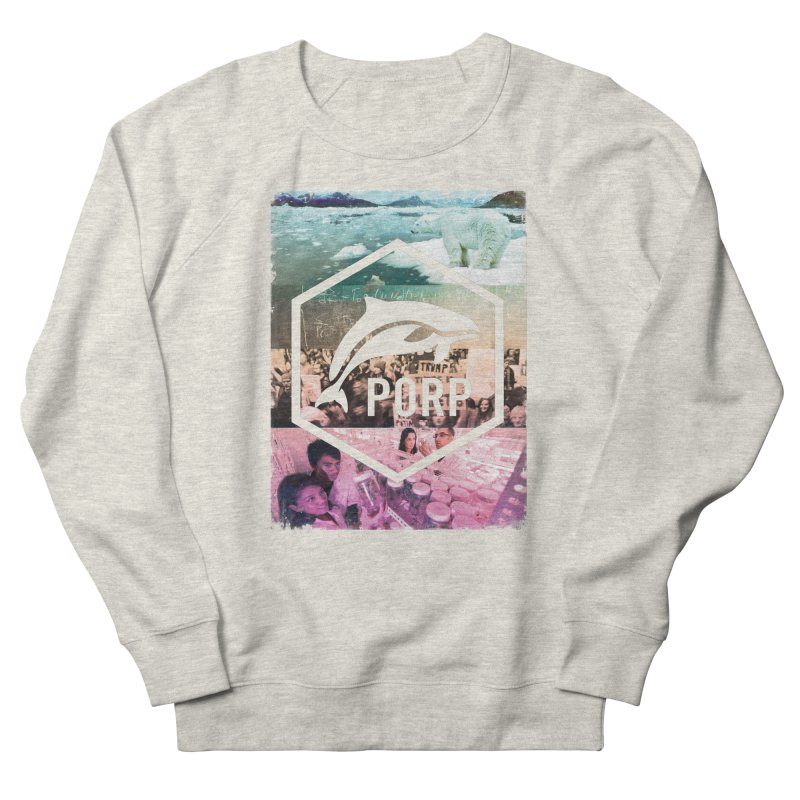 PORP Photo Collage Men's French Terry Sweatshirt by PORPMerch's Artist Shop