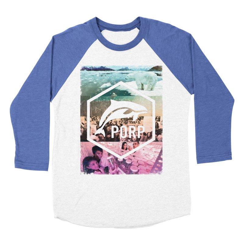 PORP Photo Collage Women's Baseball Triblend Longsleeve T-Shirt by PORPMerch's Artist Shop