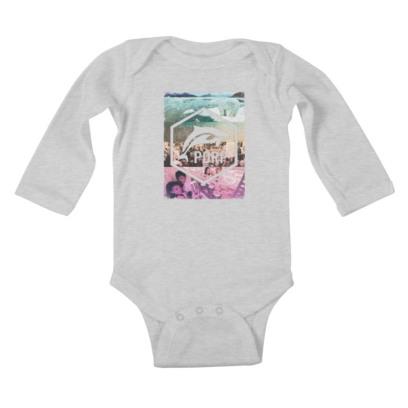 PORP Photo Collage Kids Baby Longsleeve Bodysuit by PORPMerch's Artist Shop