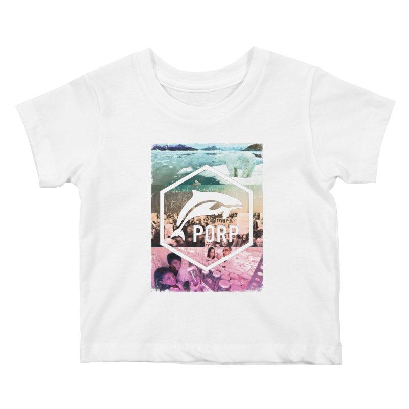 PORP Photo Collage Kids Baby T-Shirt by PORPMerch's Artist Shop