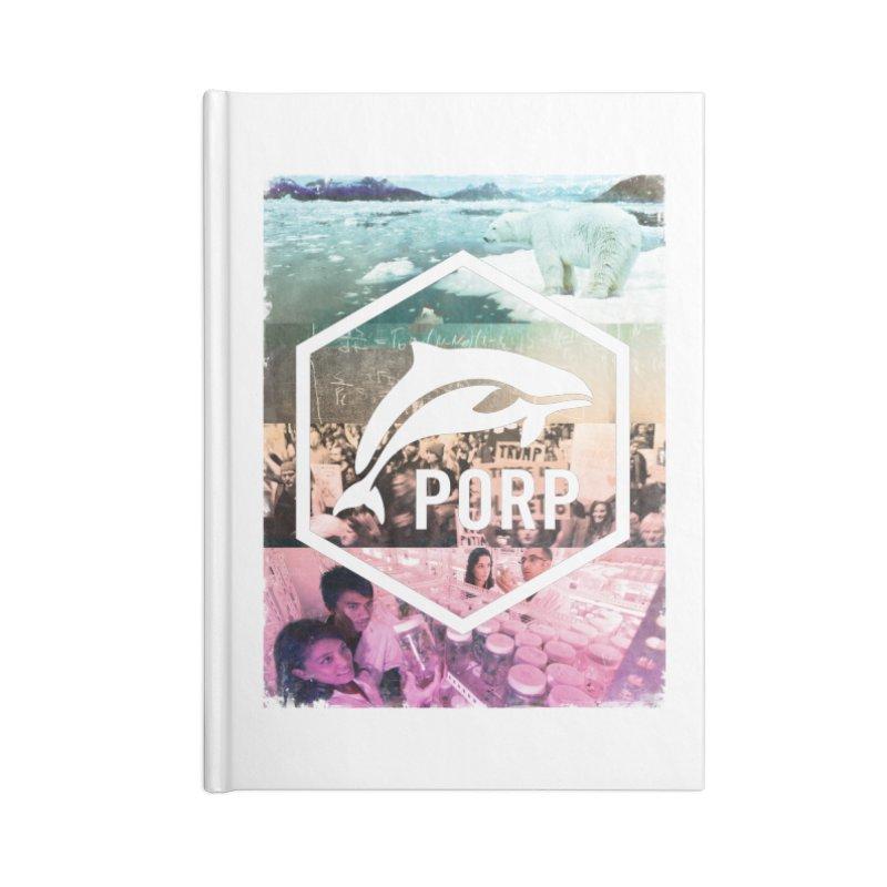 PORP Photo Collage Accessories Notebook by PORPMerch's Artist Shop