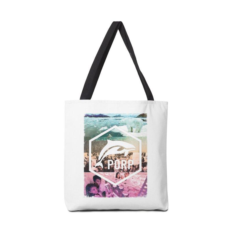 PORP Photo Collage Accessories Bag by PORPMerch's Artist Shop