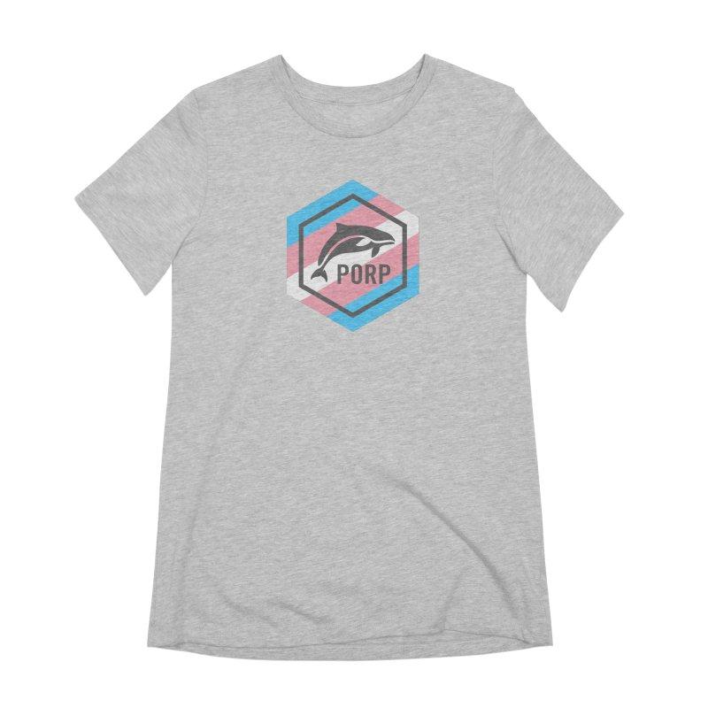 PORP Trans Pride Women's Extra Soft T-Shirt by PORPMerch's Artist Shop