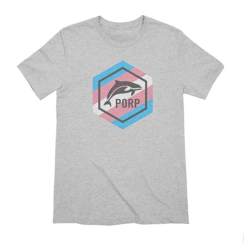 PORP Trans Pride Men's Extra Soft T-Shirt by PORPMerch's Artist Shop