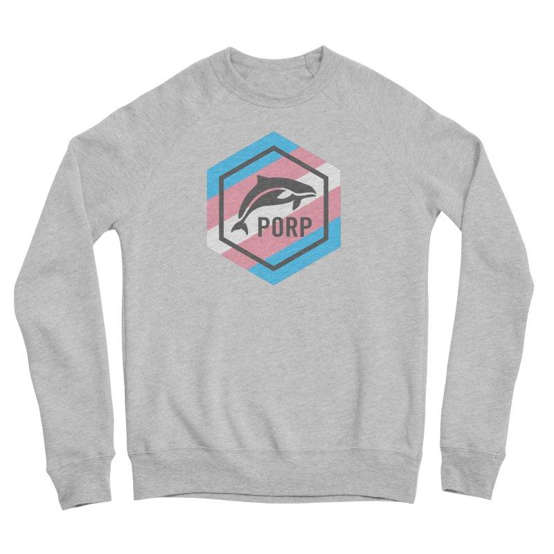 PORP Trans Pride Women's Sponge Fleece Sweatshirt by PORPMerch's Artist Shop