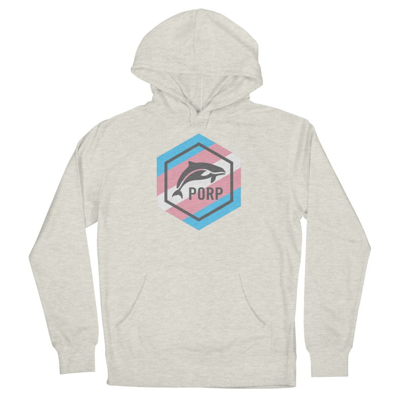 PORP Trans Pride Men's French Terry Pullover Hoody by PORPMerch's Artist Shop