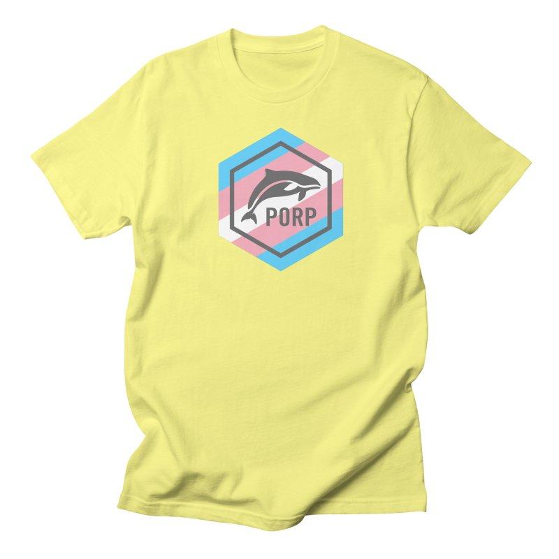 PORP Trans Pride Women's Regular Unisex T-Shirt by PORPMerch's Artist Shop