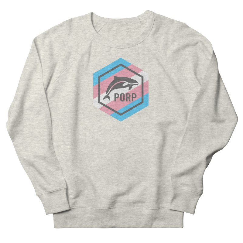 PORP Trans Pride Men's French Terry Sweatshirt by PORPMerch's Artist Shop