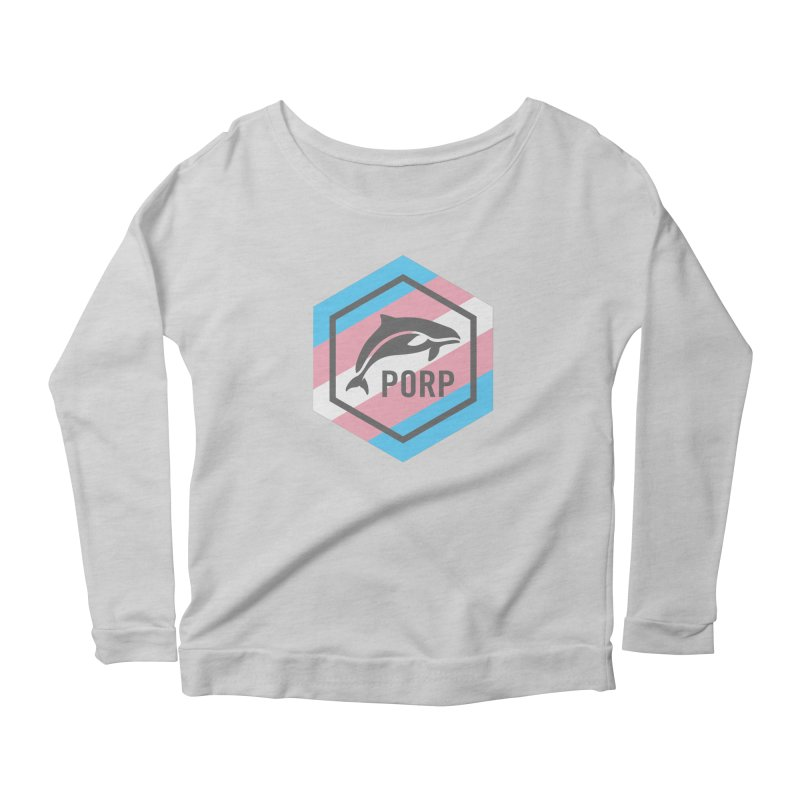 PORP Trans Pride Women's Scoop Neck Longsleeve T-Shirt by PORPMerch's Artist Shop
