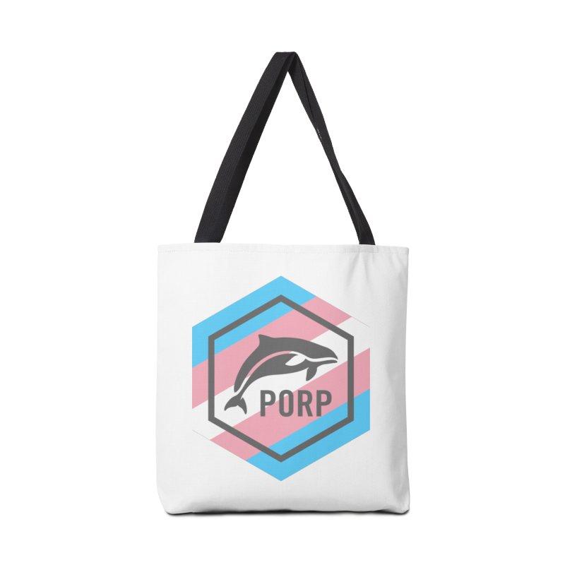 PORP Trans Pride Accessories Bag by PORPMerch's Artist Shop