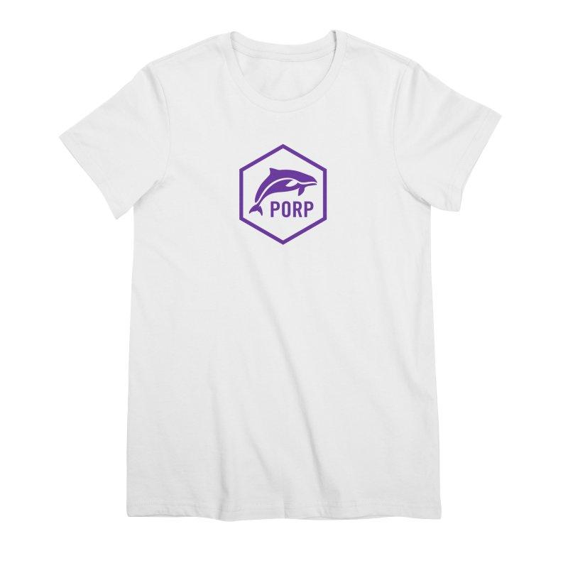 PORP Purple Icon Women's T-Shirt by PORP Merch's Artist Shop