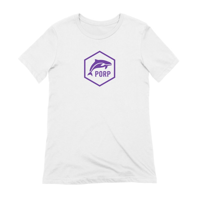 PORP Purple Icon Women's Extra Soft T-Shirt by PORP Merch's Artist Shop