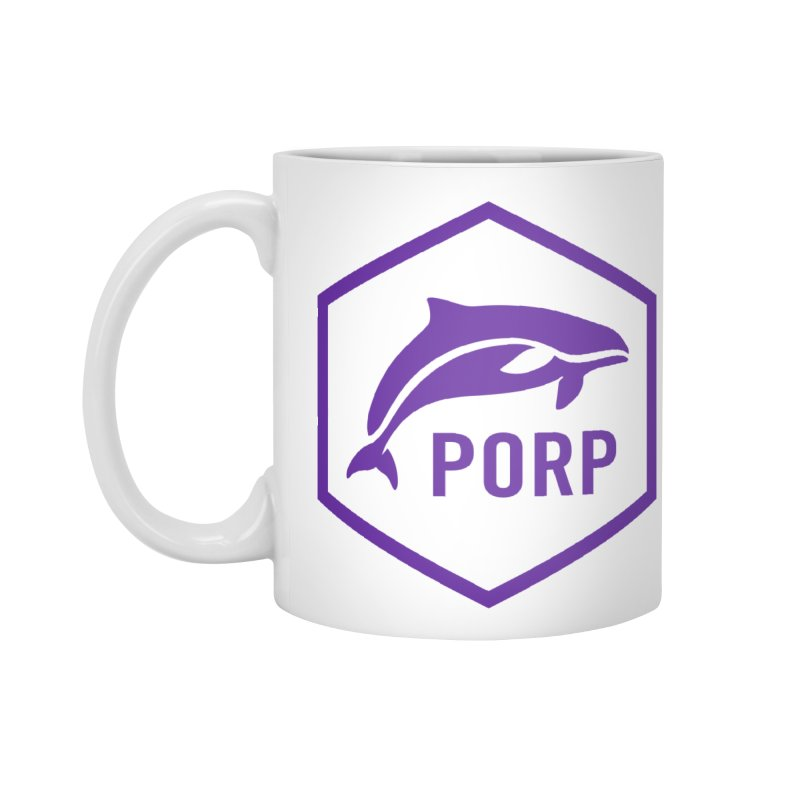 PORP Purple Icon Accessories Standard Mug by PORP Merch's Artist Shop