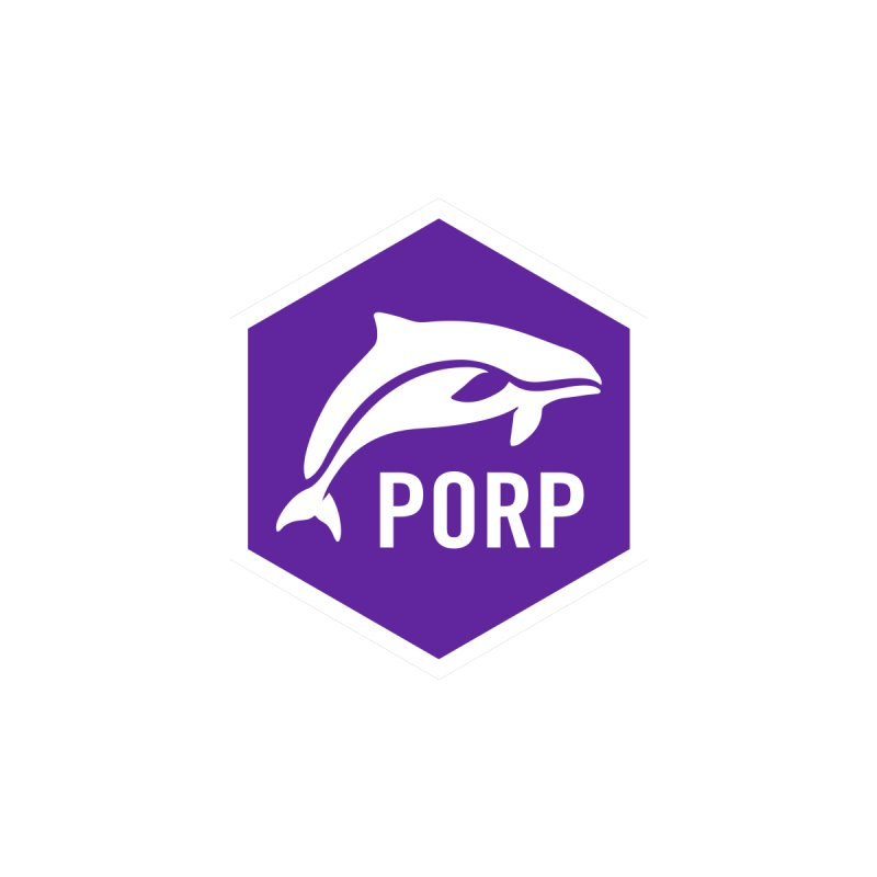 PORP Icon Accessories Sticker by PORPMerch's Artist Shop