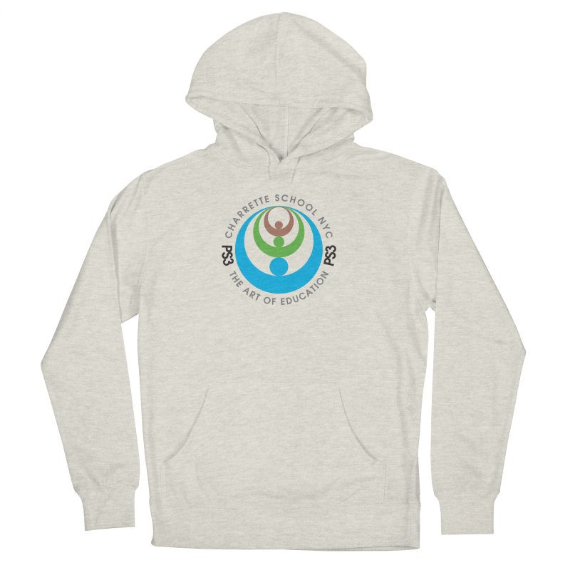 PS3 LOGO/SEAL Men's French Terry Pullover Hoody by PS3: Charrette School