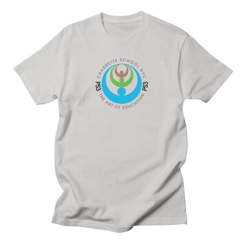 PS3 LOGO/SEAL Men's Regular T-Shirt by PS3: Charrette School