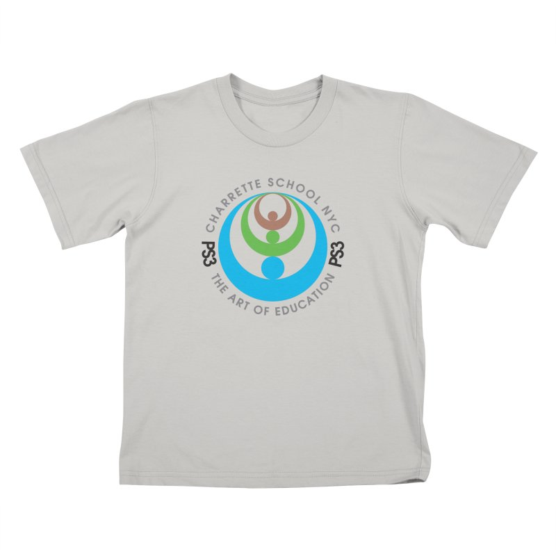 PS3 LOGO/SEAL Kids T-Shirt by PS3: Charrette School
