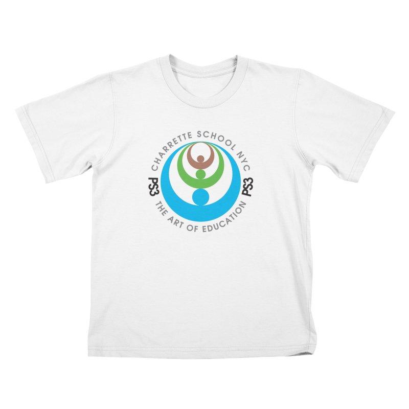 PS3 LOGO/SEAL Kids T-Shirt by PS3: Charrette School
