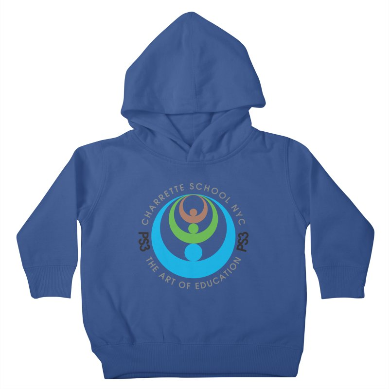 PS3 LOGO/SEAL Kids Toddler Pullover Hoody by PS3: Charrette School
