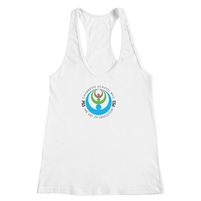 PS3 LOGO/SEAL Women's Racerback Tank by PS3: Charrette School
