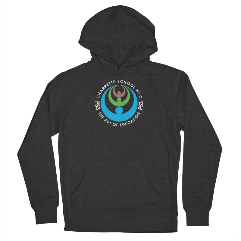 PS3 LOGO/SEAL -- DARK BACKGROUND Women's French Terry Pullover Hoody by PS3: Charrette School