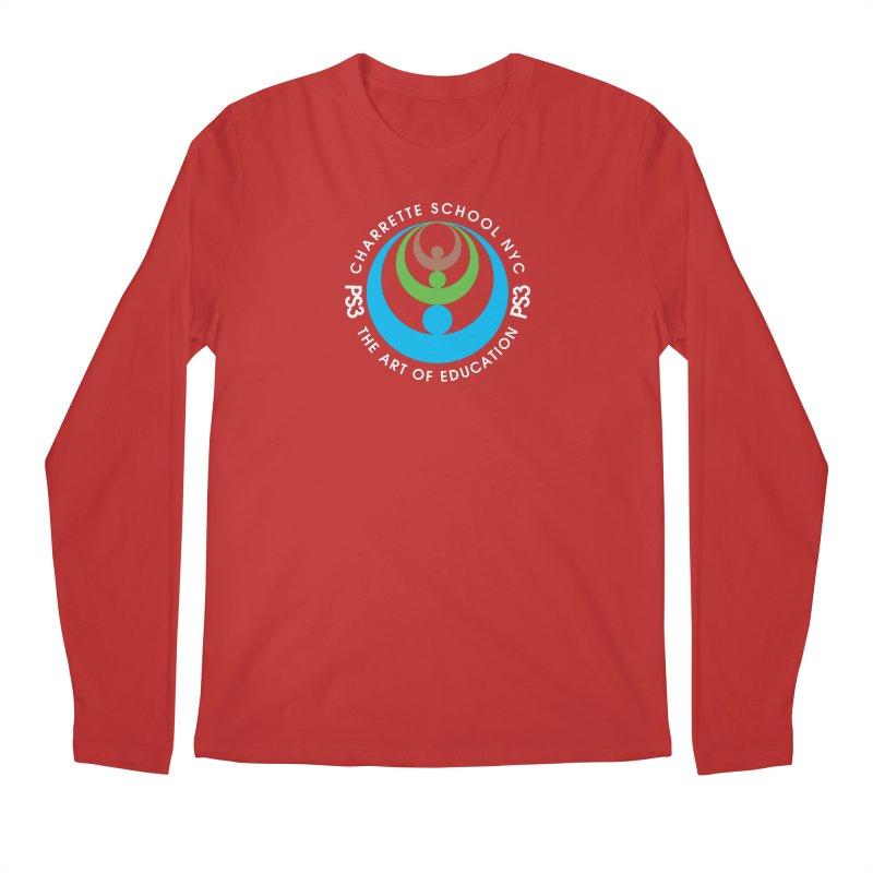 PS3 LOGO/SEAL -- DARK BACKGROUND Men's Longsleeve T-Shirt by PS3: Charrette School