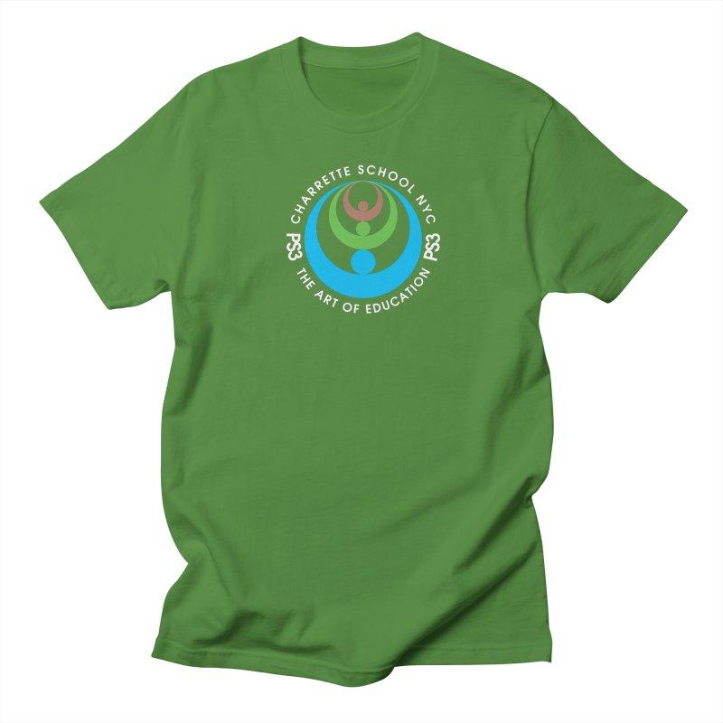 PS3 LOGO/SEAL -- DARK BACKGROUND Men's Regular T-Shirt by PS3: Charrette School