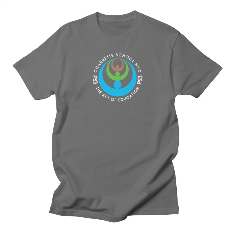 PS3 LOGO/SEAL -- DARK BACKGROUND Women's Regular Unisex T-Shirt by PS3: Charrette School