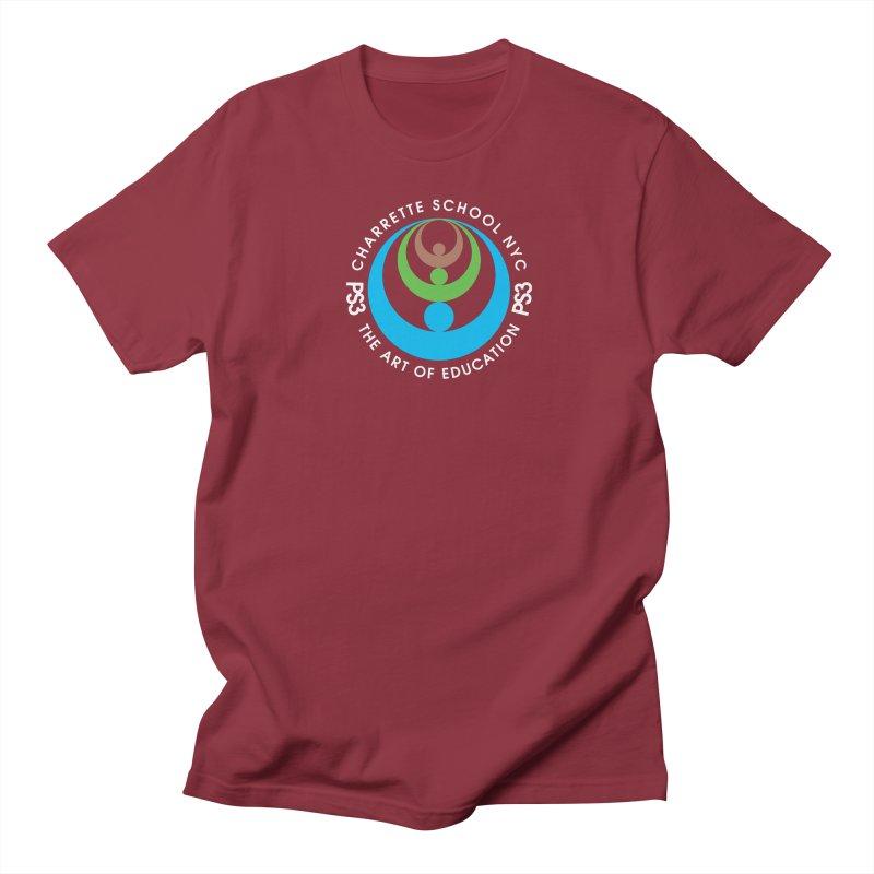 PS3 LOGO/SEAL -- DARK BACKGROUND Women's Unisex T-Shirt by PS3: Charrette School
